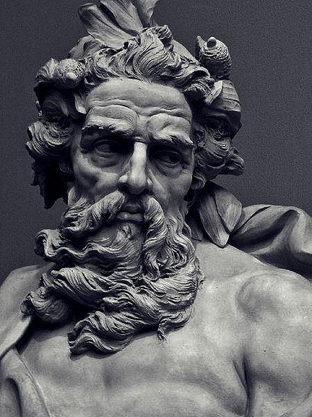 zeus face statue - Buscar con Google                                                                                                                                                                                 Más