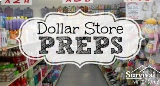 *Dollar Store Preps - Packing Your Bug-Out Bag for Cheap **  also: sterno cans, pencil sharpener, see comments