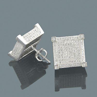 Mens Diamonds Earrings Gold Diamond At Itshot