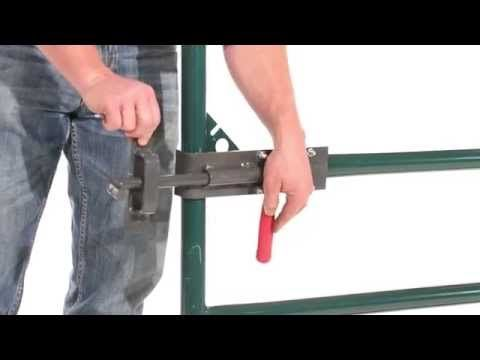 ARCeology: Inspired Welding Projects: Ranch Gate Latch