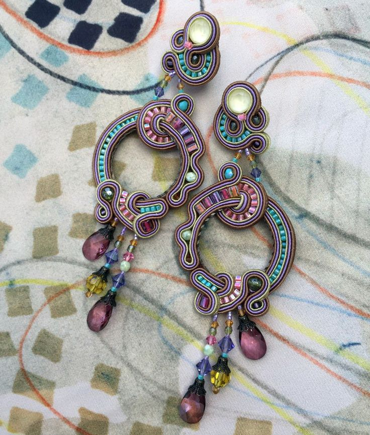 Minerva statement earrings...the power of pastels... #doricsengeri #statementearrings #luxeearrings #coutureearrings #pastels #pastelearrings