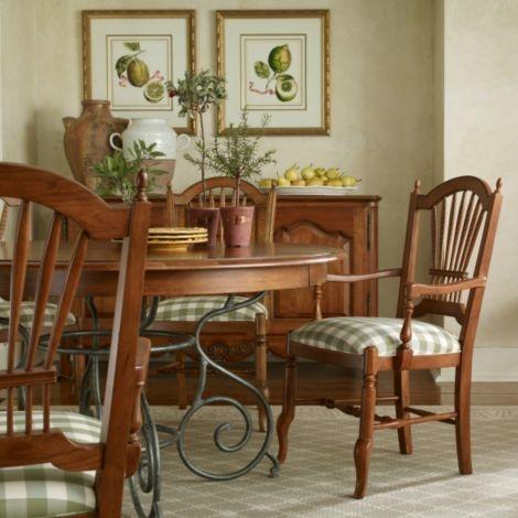 Ethan Allen Newport Dining Room Table