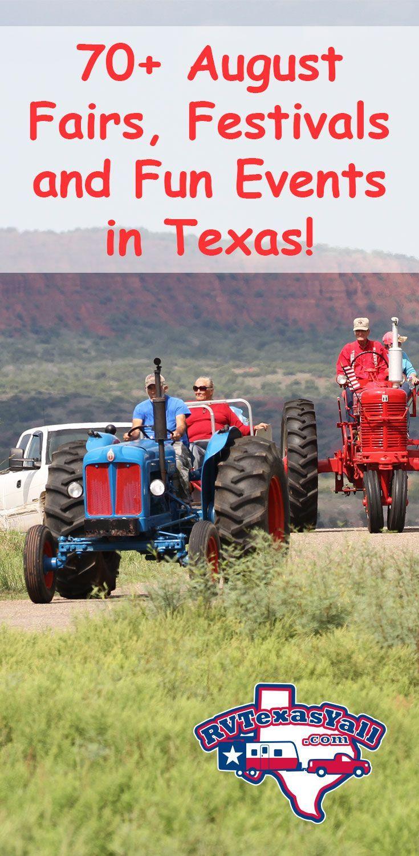 August Festivals, Fairs and Fun Events in Texas! RVTexasYall.com