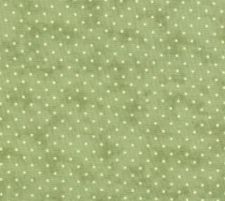 Essential Dots - Sage (8654 15) // Juberry Fabrics