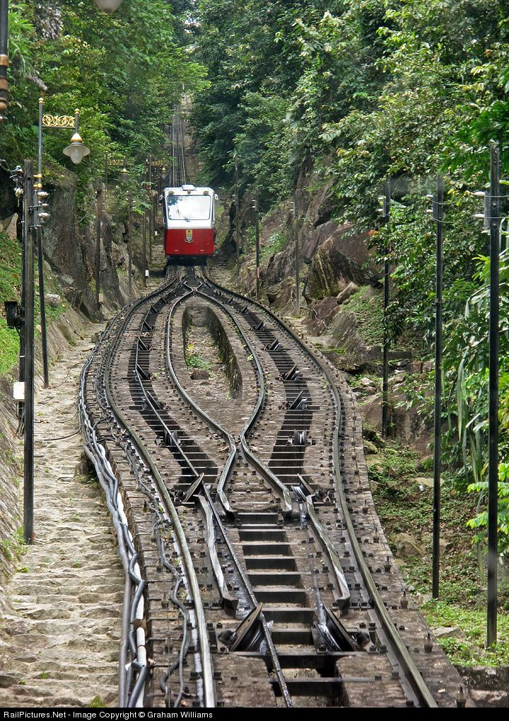 RailPictures.Net Photo: n/a Penang Hill Tramway Funicular at Penang, Malaysia by Graham Williams