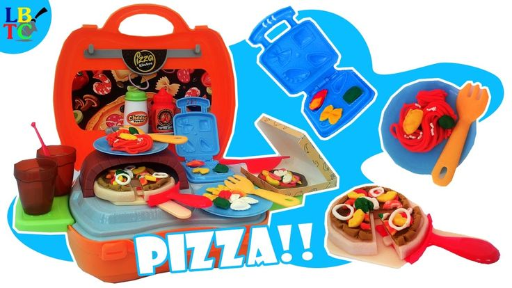 PlayGo Dough and Carry: Play Doh Pizza Kitchen and Pasta Learn to Cook -...