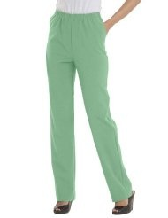 Woman Within Plus Size Pants with comfort waist Only Necessities
