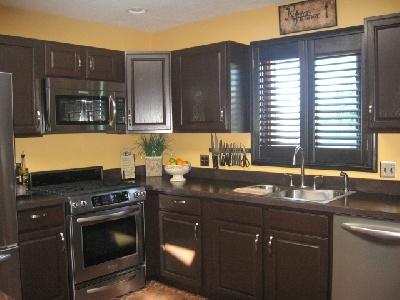 Best Cabinets In Espresso And Counter In Java Rustoleum 640 x 480