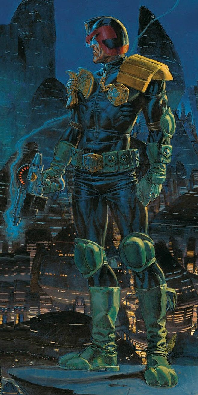2000A.D. - Judge Dredd by Phil Winslade
