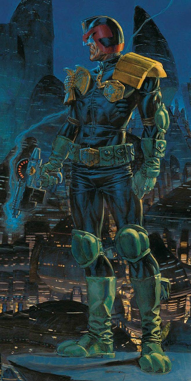 2000A.D. - Judge Dredd by Phil Winslade