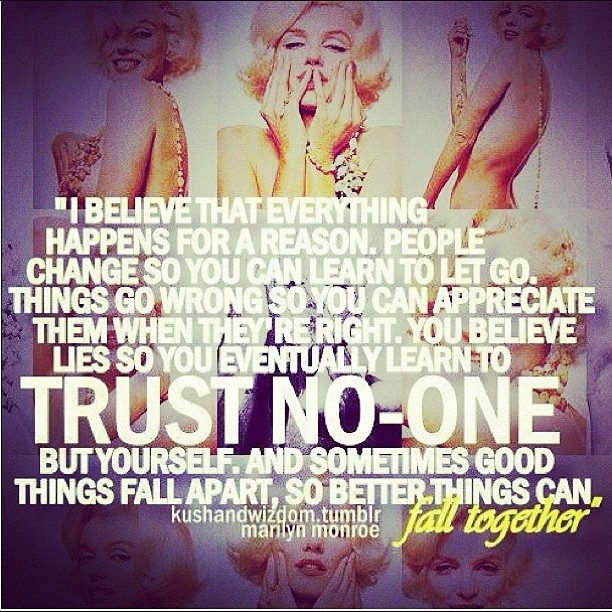 Marilyn Monroe Quotes Better Things Can Fall Together: 1000+ Images About Citáty On Pinterest