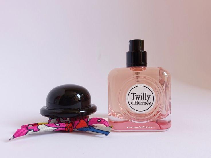 Twilly d'Hermès Eau de Parfum with bowler hat and silk spaghetti