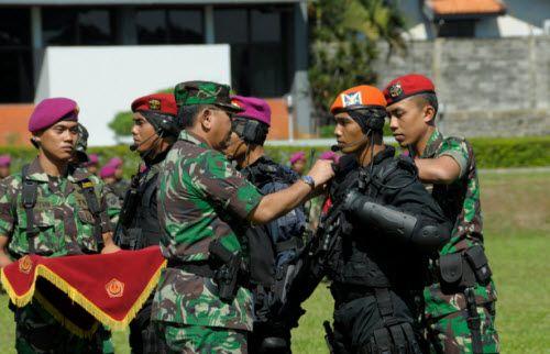 Barometer Berita Terkini, TNI Gelar Latihan Satuan Penanggulangan Teror