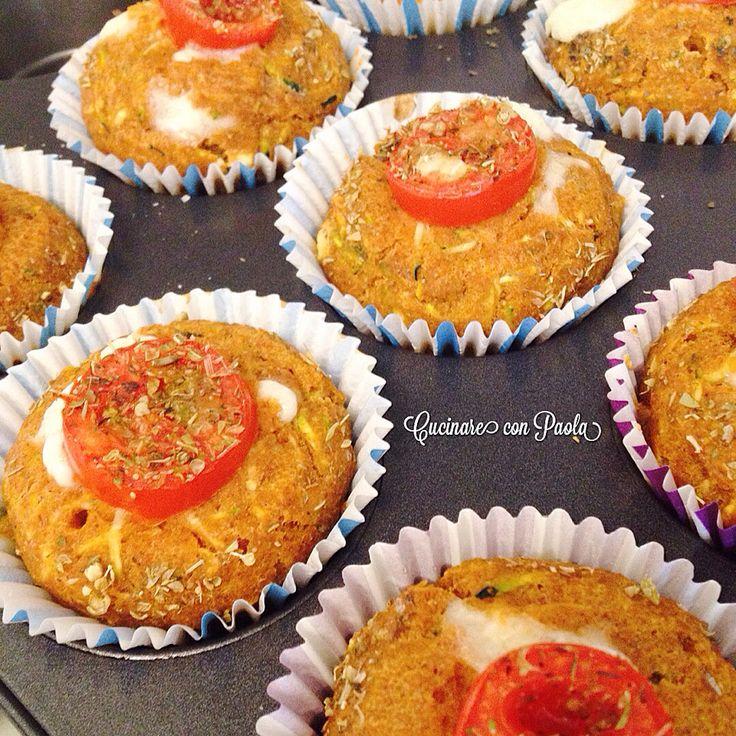 #muffin salati con farina #integrale senza uova! #goloso #sano #recipe #recipes #ricetta