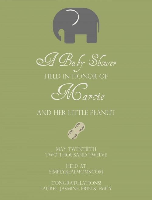 86 best Invitation Ideas images on Pinterest Packaging, Cards - baby shower invitation letter