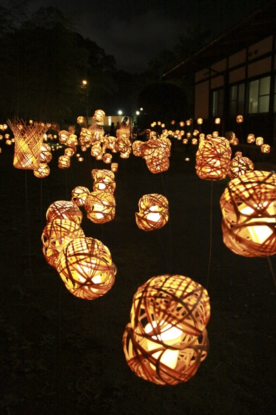 No.042 竹と月夜の調べ(10月撮影)