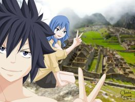Fairy Tail - gray and juvia by claudiadragneel