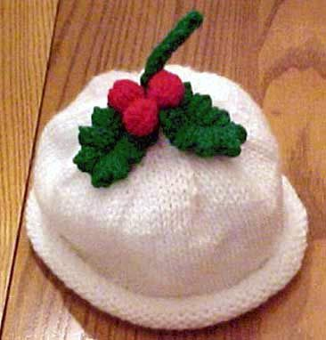 Free Knitting Pattern for Roll Brim Hat for Babies and Kids