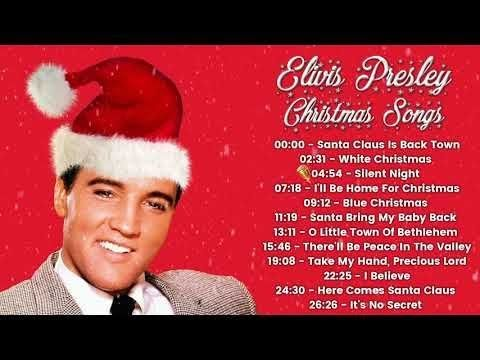 The Classic Christmas - Elvis Presley Christmas Songs - YouTube
