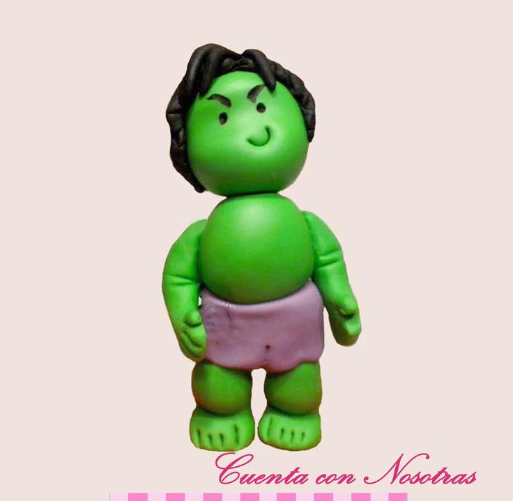 Modelado Hulk Hulk Fondant