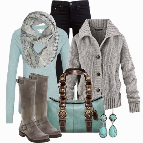 Winter Outfits | AE Scarf