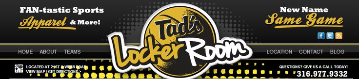 Stop by participating Tad's Locker Rooms for Official WSU merchandise or visit their online store.