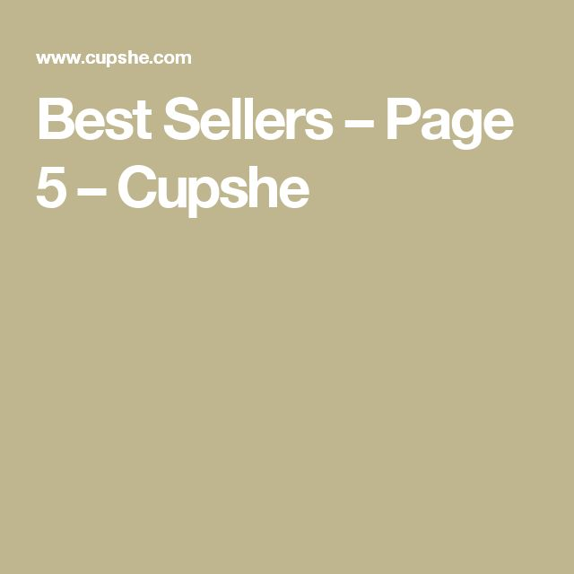 Best Sellers – Page 5 – Cupshe