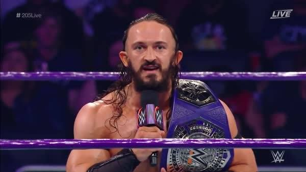 """""""I would like to thank you all for NEVER BELIEVING IN ME! You lit a fire in my belly and I became ROYALTY!"""" - WWE Cruiserweight Champion Neville on WWE Network's WWE 205 Live!"""