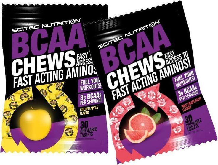 A rágható tabletták segítségével könnyen bevihetsz egy jó adagot az elágazó láncú aminosavakból, akár úton vagy akár már edzel a teremben. A BCAA-k a kilenc esszenciális aminosav közé tartoznak, mivel az emberi szervezet nem képes azok előállítására. Egyetlen forrásuk a napi élelmiszer és étrendkiegészítő bevitel. A BCCA-k 35 százalékát teszik ki az izomfehérjék esszenciális aminosavkészletének és jellemzően elhasználódnak az intenzív edzések alatt.
