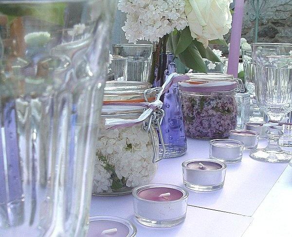 Beautiful decorations for parties #LeParfait #jars