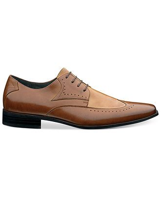 Stacy Adams Atticus Wing-Tip Shoes - All Men's Shoes - Men - Macy's $85