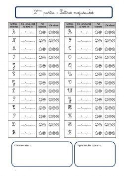 Fichier d'écriture: les majuscules