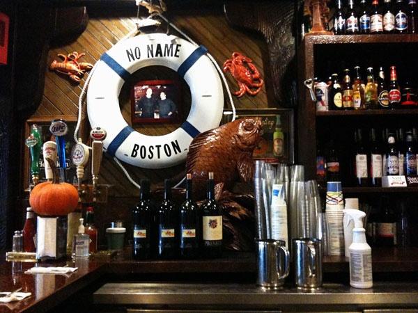 No name restaurant places i 39 ve been pinterest for Fish restaurant boston