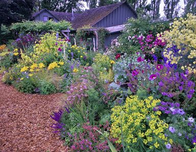 Garden nursery eugene or is for Flower garden designs and layouts