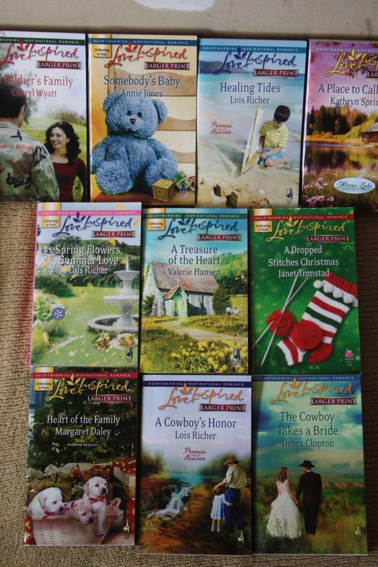 10 Love Inspired books / love inspired novels / lot 3 by TheKindLady on Etsy