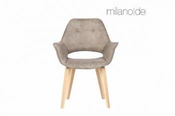 Καρέκλα Aloisio ντυμένη με ύφασμα Α' ποιότητας με δυνατότητα επιλογής απόχρωσης. Η κλίση που  διαθέτουν τα πόδια της καρέκλας προσθέτει επιπλέον σταθερότητα.  https://www.milanode.gr/product/gr/2385/karekla_aloisio.html