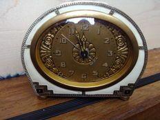 Kienzle - Art Deco tafel/bureauklok-alarm