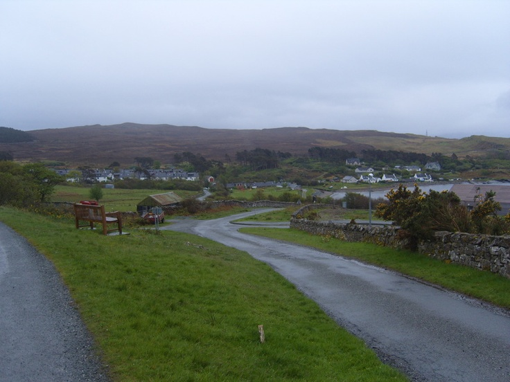 isle of Raasay - village of Inverarish