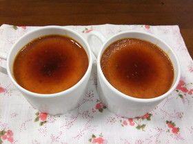 簡単 フライパンでできる かぼちゃプリン