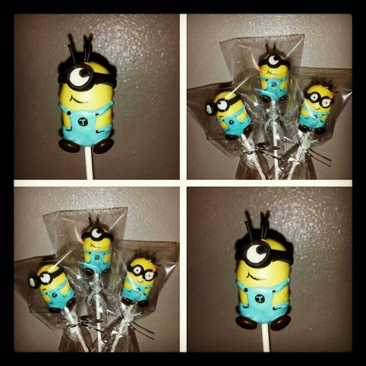 17 Best Ideas About Minion Cake Pops On Pinterest