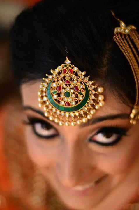 Bridal jewellery Maang tikka