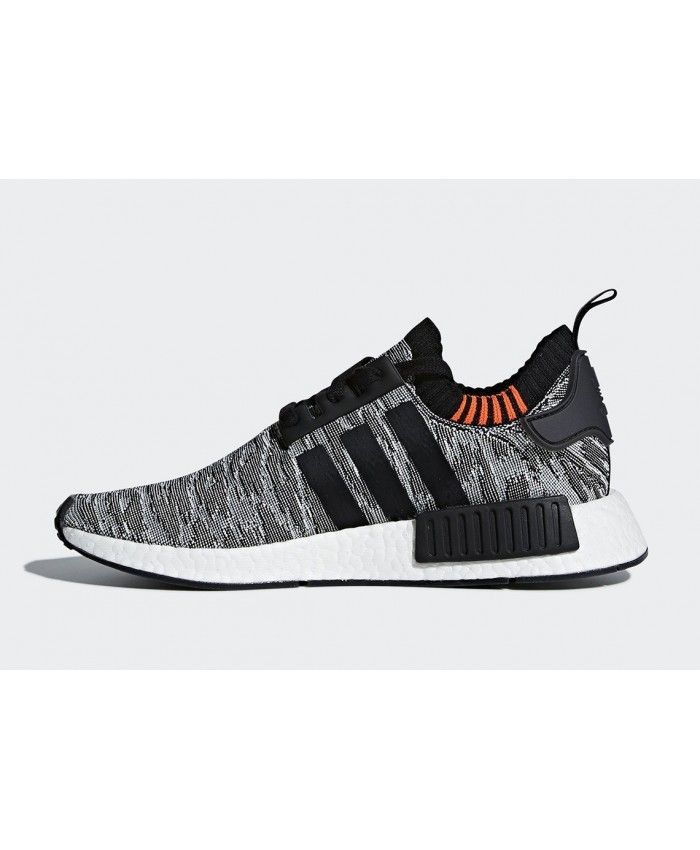 Adidas NMD R1 Black White Cheap Trainers