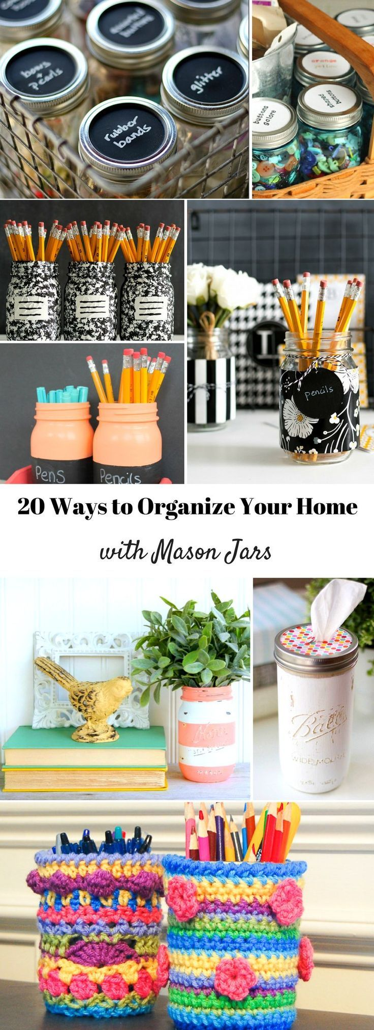 20 Ways To Organize Your Home with