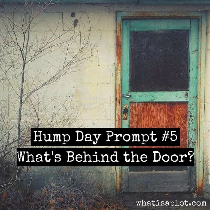 Hump Day Prompt #5: What's Behind the Door