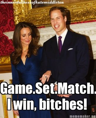 One Future King of Great Britain Taken (The Inner Duchess of Kate Middleton)