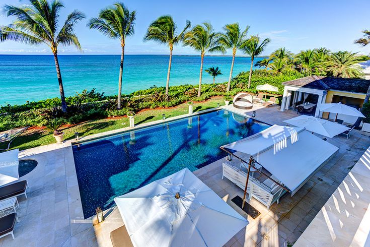 An incredible oceanfront setting and modern outdoor living spaces meet traditional Caribbean charm at Pembroke House.