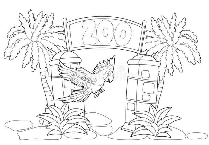 Zoo Animal Coloring Pages Zoo Coloring Pages Zoo Animal Coloring Pages Animal Coloring Pages