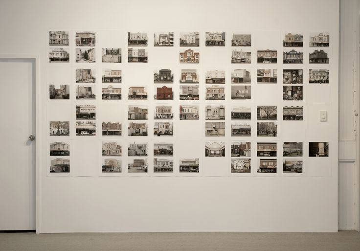 Allan McDonald's In Defence of Old Buildings, #1, 2013 as installed at the Gallery as part of his recent exhibition, Walking in the City.