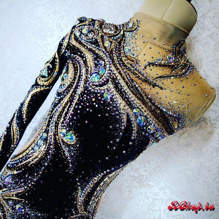 "The detailed shot of ""Yakutia's GOLD""! The amazing leotard by my own hands!#beauty #dancewear #gymnasticslife #gymnastics #rg #rgkup #rgitaly #rgspain #sport #sportswear #ritmica #rhythmics #rhythmicgymnastics #rhythmics #pinterest #costume #suit #handmade #swarovski"