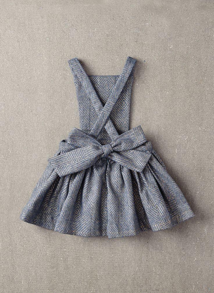 Nellystella Ella Dress in Light Grey Foil - N15F012 - PRE-ORDER